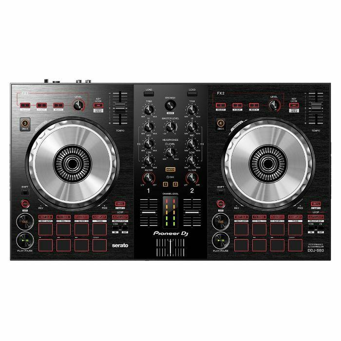 PIONEER - Pioneer DDJ SB3 Performance DJ Controller With Serato DJ Lite