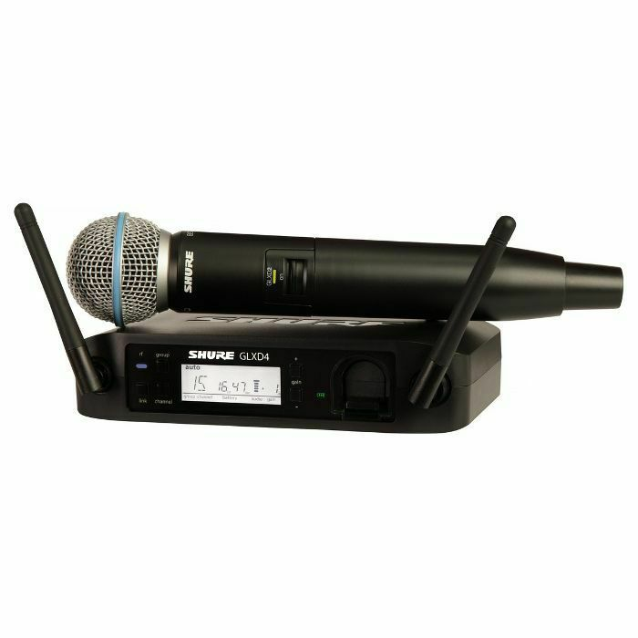 SHURE - Shure GLXD24UK/B58 Beta 58A Digital Wireless Vocal Mic System (B-STOCK)