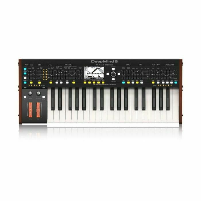 BEHRINGER - Behringer DeepMind 6 Keyboard Analogue Synthesizer (B-STOCK)
