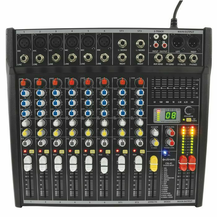 CITRONIC - Citronic CSL10 Mixing Console With DSP Effects (B-STOCK)