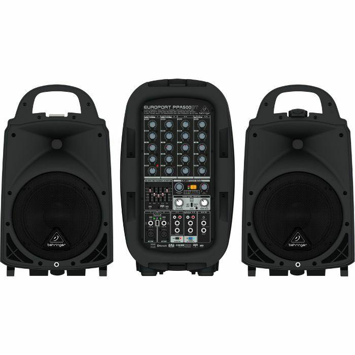 BEHRINGER - Behringer PPA500BT Europort 6 Channel Portable PA System