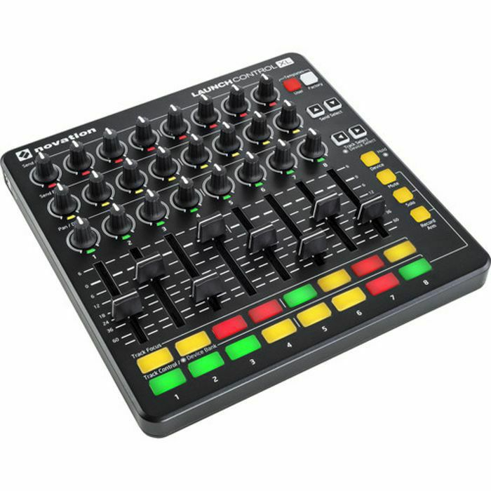 NOVATION - Novation Launch Control XL Mk2 USB MIDI Controller With Ableton Live Lite 9 Software (black) (B-STOCK)