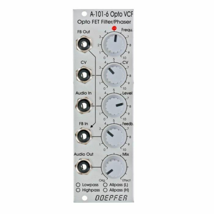 DOEPFER - Doepfer A-101-6 Opto FET VCF & Phaser Module