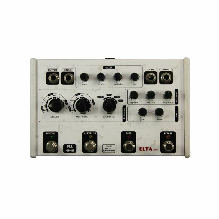 ELTA MUSIC - ELTA Music PLL4046 Analogue Harmonic Phase Locked Loop Synthesiser Pedal