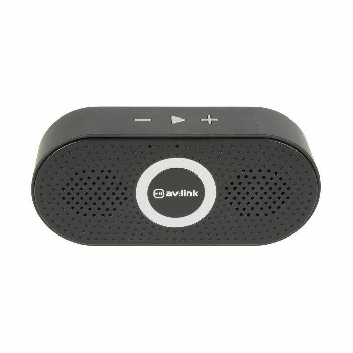 AV LINK - AV Link Portable Bluetooth Speaker (black)