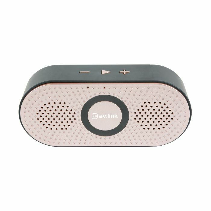 AV LINK - AV Link Portable Bluetooth Speaker (rose gold)