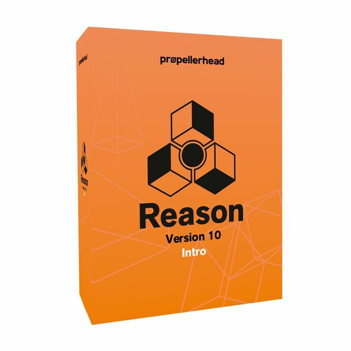 PROPELLERHEAD - Propellerhead Reason Intro 10 Music Production Software (full retail boxed version)