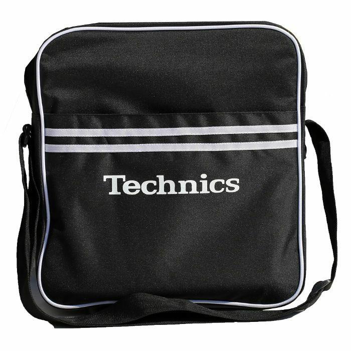 DMC - Technics Retro DJ Equipment & Vinyl Record Bag (black)
