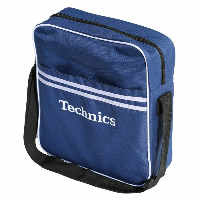 DMC - Technics Retro DJ Equipment & Vinyl Record Bag (navy)