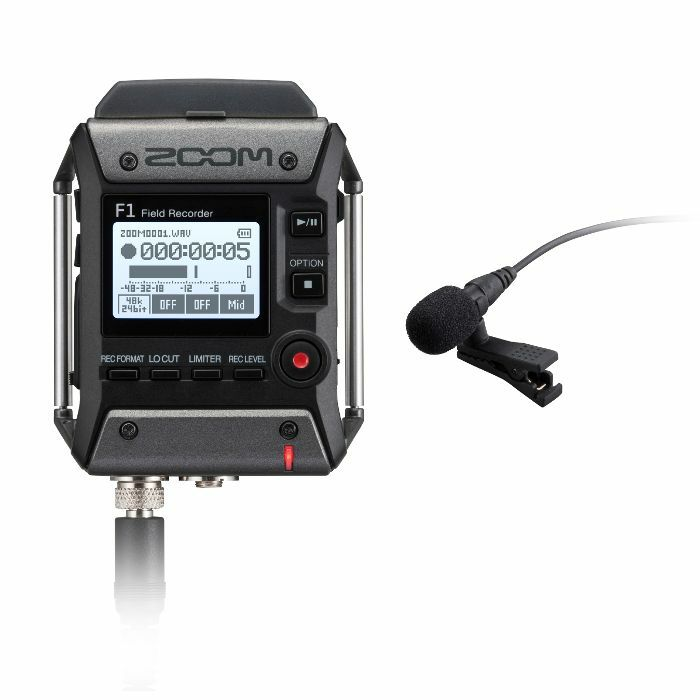 ZOOM - Zoom F1LP Field Recorder & Lavalier Microphone