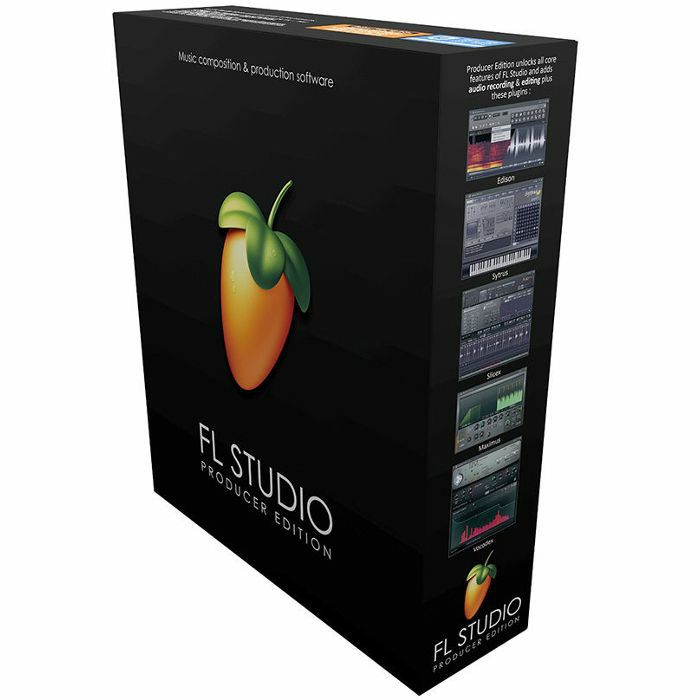 IMAGE LINE - Image Line FL Studio 20 Producer Edition Music Production Software
