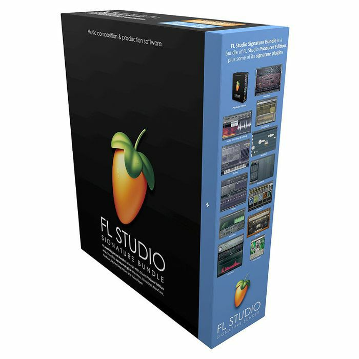 IMAGE LINE - Image Line FL Studio 20 Signature Bundle Music Production Software