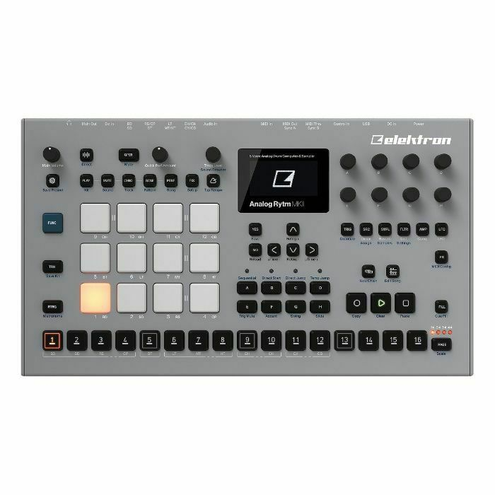 ELEKTRON - Elektron Analog Rytm MKII Drum Machine (B-STOCK)