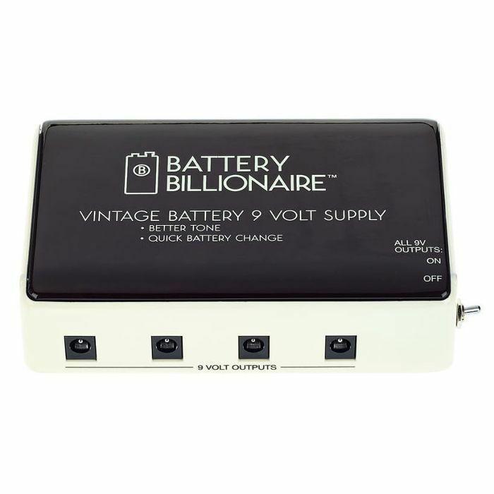 DANELECTRO - Danelectro Battery Billionaire Vintage Battery 9 Volt Power Supply