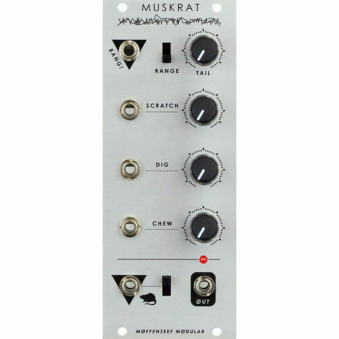 MOFFENZEEF MODULAR - Moffenzeef Modular Muskrat 8 Bit Wavetable Drum Synth Module (B-STOCK)