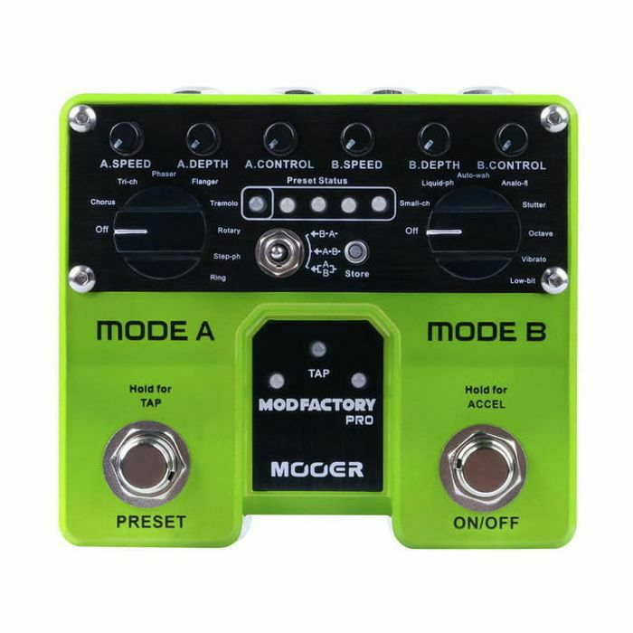 MOOER - Mooer Mod Factory Pro Dual Engine Modulation Pedal (B-STOCK)
