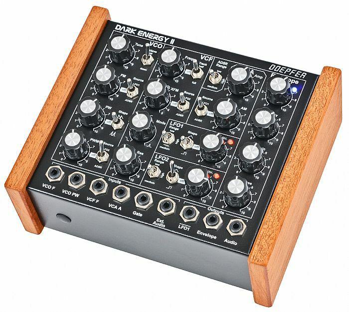 DOEPFER - Doepfer Dark Energy 2 Analog Monophonic Synthesizer (supplied with 2 pin Euro plug) (B-STOCK)