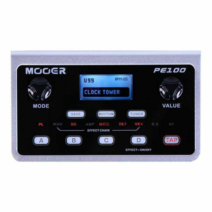 MOOER - Mooer PE100 Portable Guitar Multi Effects Unit (B-STOCK)