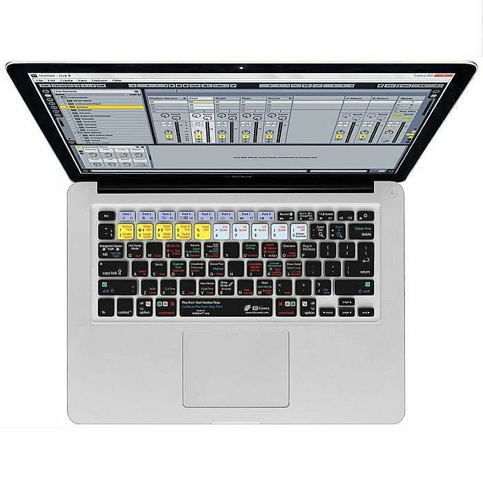 MAGMA - Magma Ableton Live 9 Keyboard Shortcut Cover For Apple Mac MacBook (B-STOCK)
