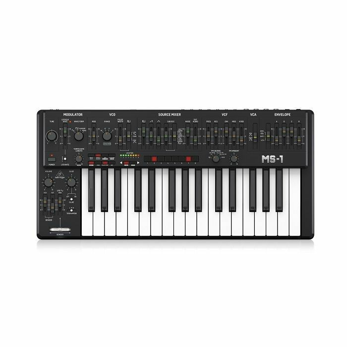BEHRINGER - Behringer MS-1 BK 101 Analog Synthesizer (black)