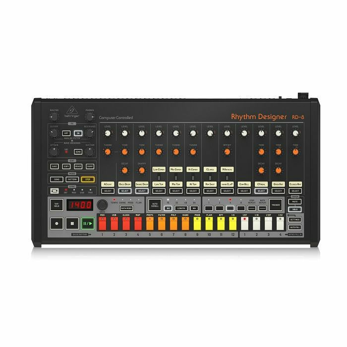 BEHRINGER Behringer RD808 Rhythm Designer Drum Machine vinyl at Juno
