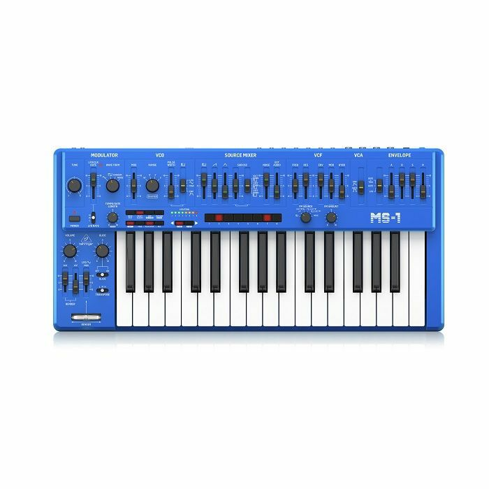 BEHRINGER - Behringer MS-1 101 BU Analog Synthesizer (blue)