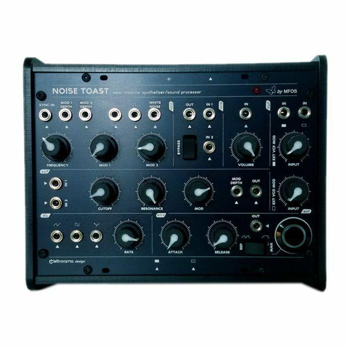 ELETTRORAMA/MFOS - Elettrorama/MFOS Noise Toaster Semi Modular Analogue Sound Processor & Synthesiser