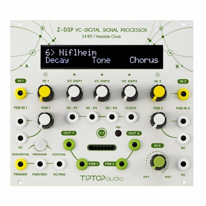 TIPTOP AUDIO - Tiptop Audio ZDSP NS Voltage Controlled Digital Signal Processor Module
