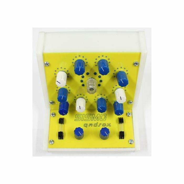 SISMO - Sismo Qadrox Synthesizer & Sequencer (yellow)