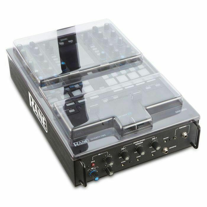 DECKSAVER - Decksaver Rane 72 DJ Mixer Cover (smoked clear)