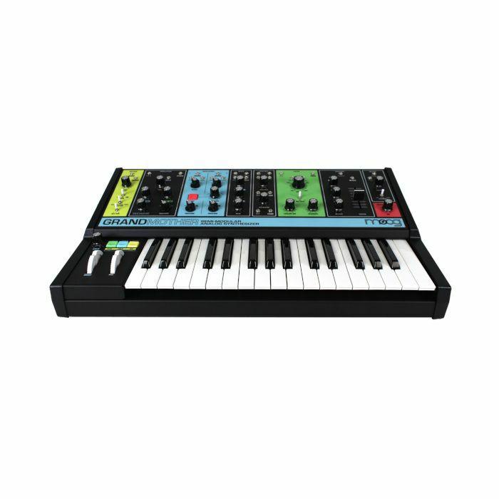 MOOG - Moog Grandmother Semi Modular Analogue Synthesizer