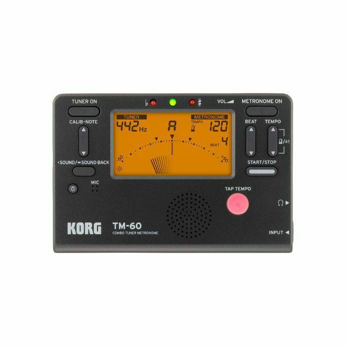 KORG - Korg TM60 Combo Tuner Metronome (black) (B-STOCK)