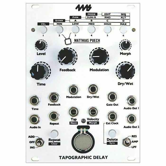 4MS - 4ms Tapographic Delay Module (B-STOCK)