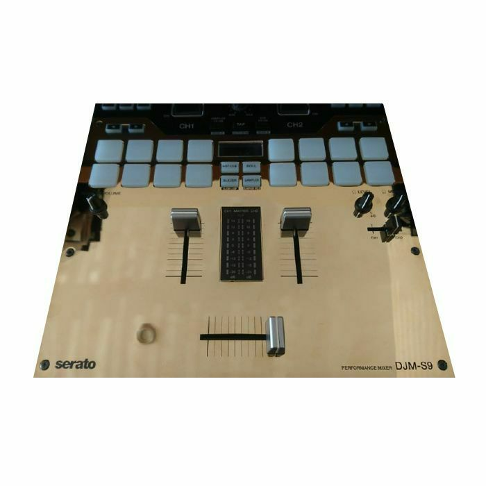 1200 PLATES - 1200 Plates Pioneer DJM S9 Face Plate (gold plated, single) (B-STOCK)