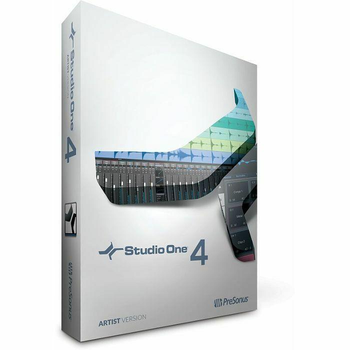 PRESONUS - Presonus Studio One Artist 4 Software (boxed software)