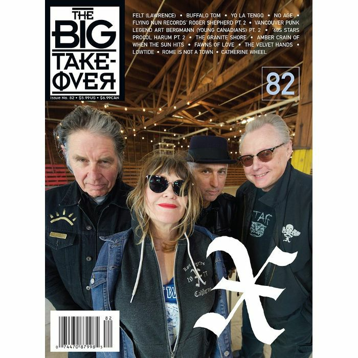 BIG TAKEOVER, The - The Big Takeover Magazine Issue 82 (featuring Felt, Buffalo Tom, Yo La Tengo, Flying Nun Records & more)