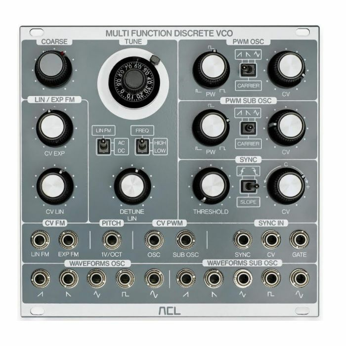 ACL - ACL Multi Function Discrete VCO Module