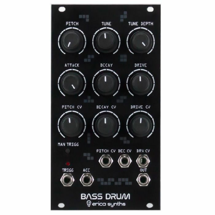 ERICA SYNTHS - Erica Synths Drum Series Bass Drum Module (black)