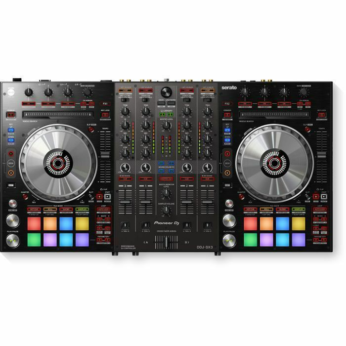 PIONEER - Pioneer DDJ SX3 Performance DJ Controller With Serato DJ Pro Software