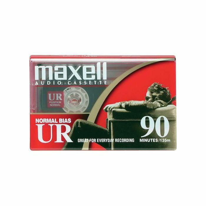 MAXELL - Maxell UR90 Audio Blank Cassette Tape (single)