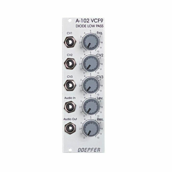 DOEPFER - Doepfer A-102 Diode Low Pass Filter Module