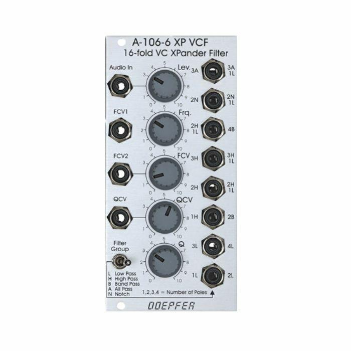 DOEPFER - Doepfer A-106-6 XP Multimode Filter Module