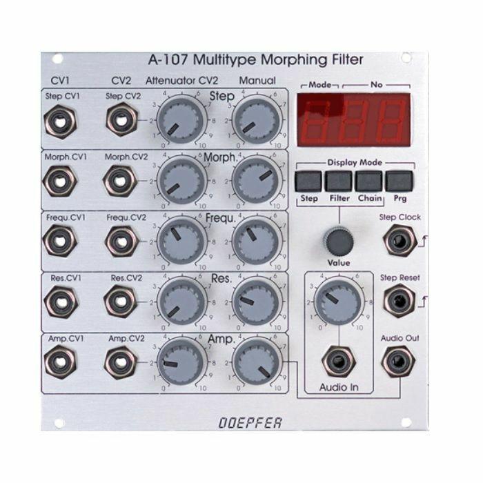 DOEPFER - Doepfer A-107 Multitype Morphing Filter Module