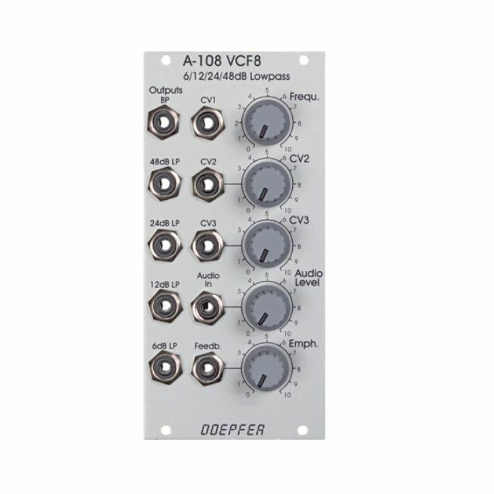 DOEPFER - Doepfer A-108 6/12/24/48dB Low Pass Filter Module
