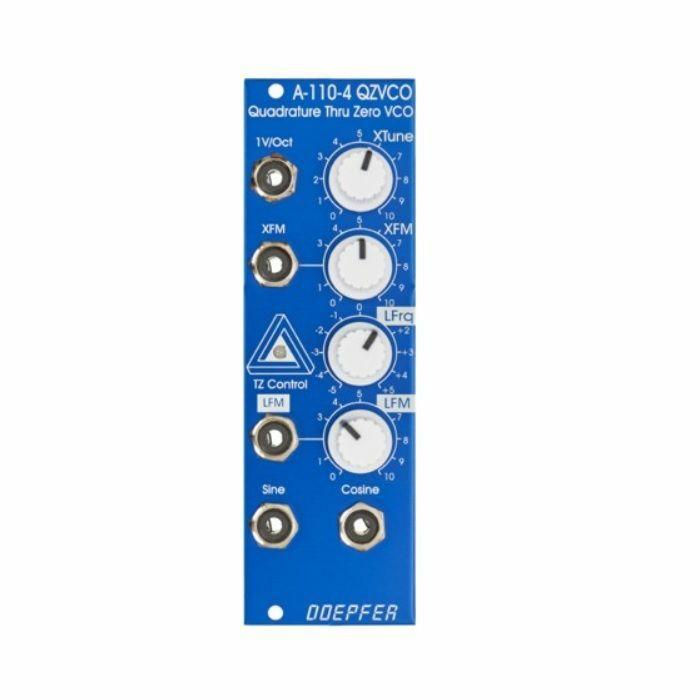 DOEPFER - Doepfer A-110-4 SE Quadrature Thru Zero VCO Module (blue & white special edition)