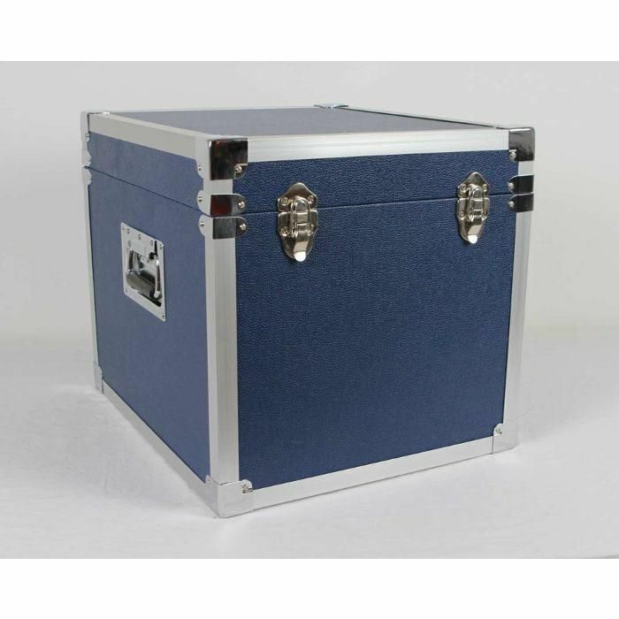 STEEPLETONE - Steepletone SRB100 12 Inch Vinyl Record Storage Carry Case (blue, holds 100 records)