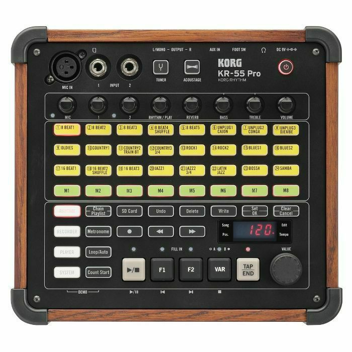 KORG - Korg KR55 Pro Rhythm Drum Machine (B-STOCK)