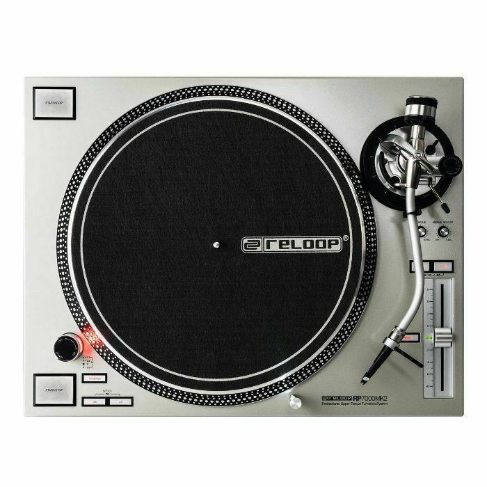 RELOOP - Reloop RP7000 MK2 DJ Turntable (silver) (pair)