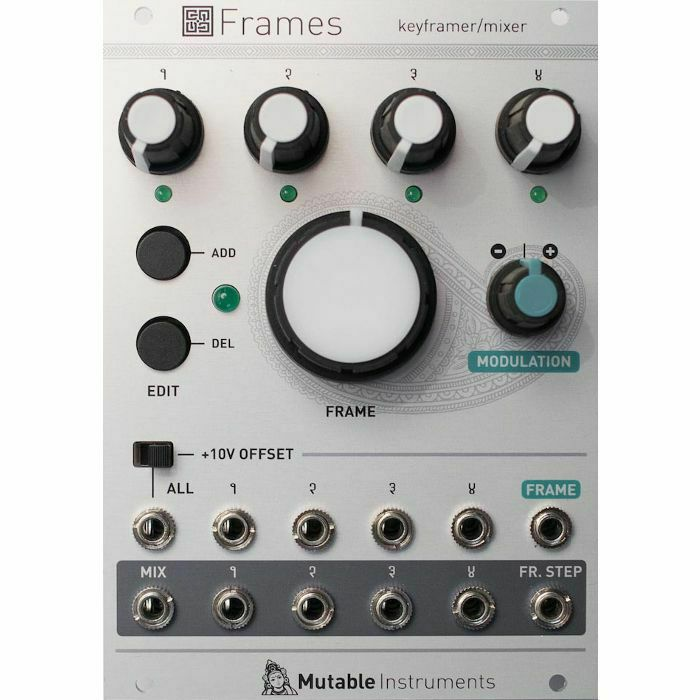 MUTABLE INSTRUMENTS - Mutable Instruments Frames Mixer Keyframer Eurorack Module (B-STOCK)