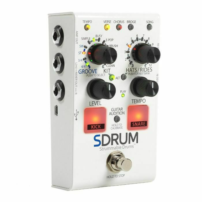 DIGITECH - Digitech SDRUM Strummable Drums Pedal (B-STOCK)
